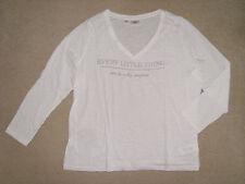 Shirt von bpc in Weiss mit Druck~~Grösse 48/50