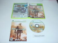 CALL OF DUTY: MODERN WARFARE 2 complete in case w/ manual for Microsoft XBOX 360