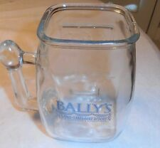 Vintage Bally'S Casino Slot Machine Mug Glass New Orleans La.
