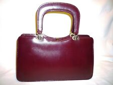 women's bag burgundy tote bag burgundy medium smooth elegant real leather Eros