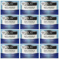 12 Olay Antiride Instantané Hydratation Hydrater Jour Réduit Gonflement 50ml