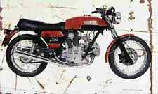 Ducati 750GT 1973 Aged Vintage SIGN A4 Retro