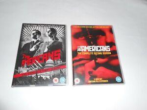 The Americans - Season 1&2 DVD Box Sets - Excellent