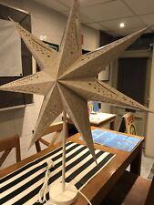 Shabby Chic Star Lampada da tavolo Lampada 70 cm
