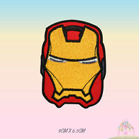 Iron Man Super Hero Movie Embroidered Iron On Patch Sew On Badge