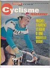 1976 l'equipe cyclisme n°99 PARIS NICE TOUR DE CORSE NATIONAL MILAN SAN REMO