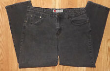 COS JEANS SIZE 16 PETITE SHINY SEQUINS WOMENS STRETCHY COMFY MEDIUM BLACK JEANS