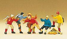 Preiser 10190 H0, Bergsteiger, 6 Figuren, handbemalt, Neu