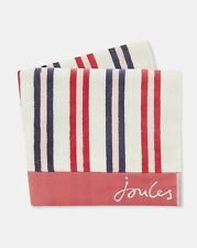 Joules Dawn Shadow Stripe Cotton Hand Towel
