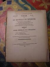 Thèse MEDECINE : la forme cérébrale de l' INSOLATION par Lahaye - 1878
