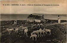 CPA GRIS NEZ-Poste de Douaniers et Troupeau de moutons (268295)