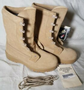 BELLEVILLE HOT COLD WET GORE-TEX Sz 7 R Combat Military Army Tan Boots NEW NWT
