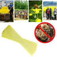 20 Strips Professional Acaricide Against Bee Varroa Mite Killer Farm Medicines
