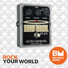 Electro-Harmonix EHX Holy Grail + Plus Variable Reverb Effects Pedal FX HG+