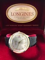 Vintage 10k LONGINES 5 Star Admiral Automatic DATE Watch