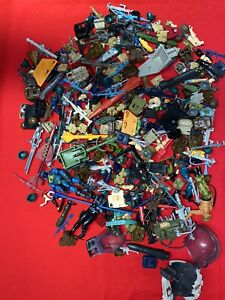 HUGE G.I. JOE/ Star Wars Action Figure Lot Of Accessories And Weapons....1.72 Lb