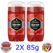 "Old Spice @ Men's Deodorant ""AQUA REEF @ 2x 3oz/85g - BEST DEAL ON EBAY"