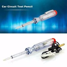 Light Truck Car Circuit Voltage Tester Pen Probe Test Clip Tool DC 6V12V 24V New