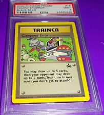 Pokemon Computer Search # 16  Black Star  Promo Psa 9