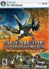 Supreme Commander: Forged Alliance - PC Video Game Windows Vista/XP (2007)
