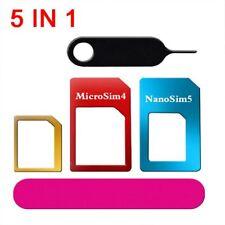 SIM Card Adapter 5-in-1 Nano to Micro Universal Standard Converter Tools Set