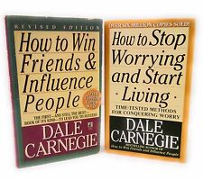 Dale Carnegie LOT 2 How to Win Friends & How to Stop Worrying and Start Living