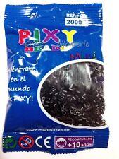 ♥P304♥ 2000 pzs. CUENTAS PIXY MINI (HAMA) PARA FUXIONAR. NEGRO. 2,5 MM  ♥