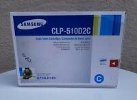 Samsung CLP-510D2C Cyan Toner. New, Genuine And Unopened.