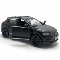 1/36 T-ROC SUV Die Cast Modellauto Spielzeug Kinder Sammlung Pull Back Schwarz