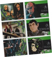 Star Trek TNG Next Generation Season 7: 6 Card Embossed Foil Chase Set S37-42