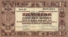 05 Netherlands / Niederlande P61 1 Gulden 1938 Serie EO