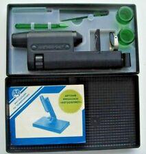 Cccp Vintage Soviet Microoscope For Kids Naturalist Original Box Manual Id