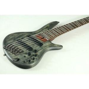 Electric Bass Ibanez SRFF806 6 Strings Right Handed Gray USED