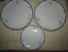 Replacement Artland Collection Versailles China Pearl plates1989 #8881 lot of 3