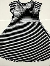 Atmosphere Short Sleeve Casual Striped Dresses for Women