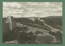 C1950'S RP PC AERIAL VIEW TOWARDS SLOTTET (ROYAL PALACE) OSLO
