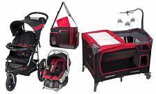 Baby Jogging Stroller Diaper Bag Infant Playard Travel System New