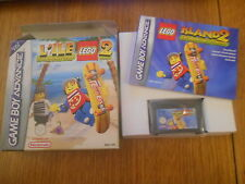 L'ile Lego 2 La Revanche des Casbric Jeu GBA Gameboy Advance PAL Complet TBE