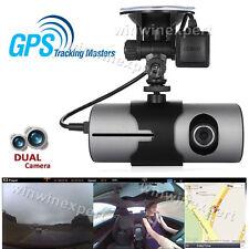 """2.7"""" Dual Lens HD 1080P Car DVR Dash Camera Video Recorder Cam G-Sensor GPS"""