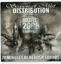 Hellfest 2008 Season of Mist Distributution 78 Minute Sampler CD