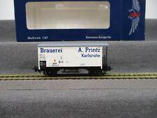 """Liliput H0 L224805 Güterwagen Bierwagen """"Brauerei Printz"""" Baden Ep.I in OVP"""