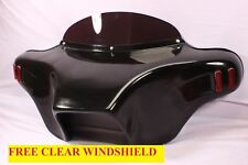 BATWING FAIRING WINDSHIELD 4 YAMAHA ROADSTAR ROAD STAR 1600 1700 XV 99-09 FIBER