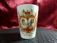 Antique 1902 King Edward VII & Alexandra CORONATION CUP (Doncaster) Royal Ware