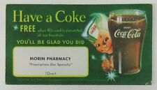 Vintage Have a Coke Coca-Cola Free Coupon - Sprite boy