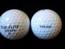 "20  STRATA  ""TOUR SOFT"" - 2016/17 MODEL - Golf Balls - ""PEARL/A"" Grades."