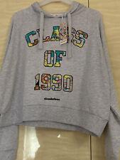 Women's NICKELODEON CLASS OF 1990 90's Hoodie Size M Top Jumper sweater RUGRATS
