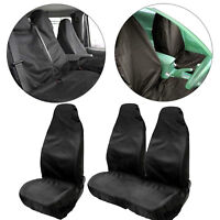 HEAVY DUTY 2+1 Van Custom Seat Covers fit FORD SEAT COVERS 100% Waterproof BLACK
