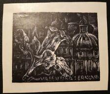 Exlibris Hans Schulze für Valentina Serkova/ X2