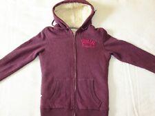 `Soulcal & Co' California Heather Long Sleeve Fleece Hoodie / Sweatshirt, Size 8