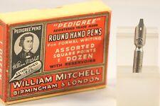 Vintage William Mitchell Pedigree Round Hand Dip Pen Nib, No. 6